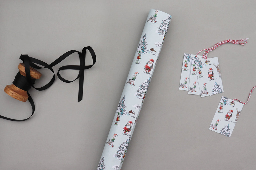 NORTH POLE WRAPPING PAPER BUNDLE