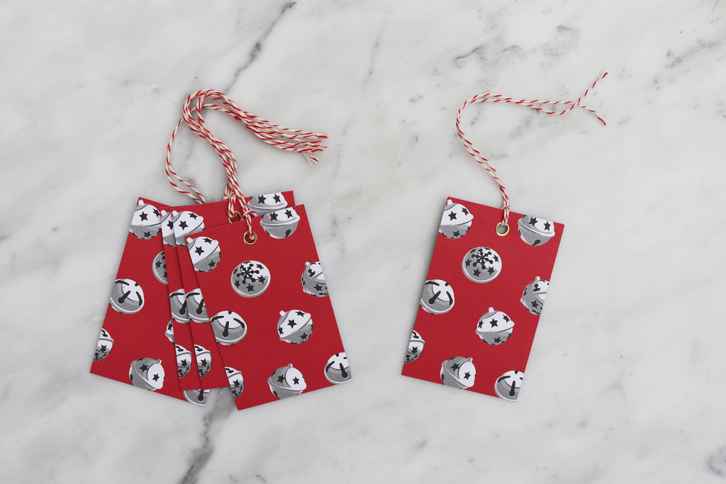 JINGLE BELLS CHRISTMAS GIFT TAGS