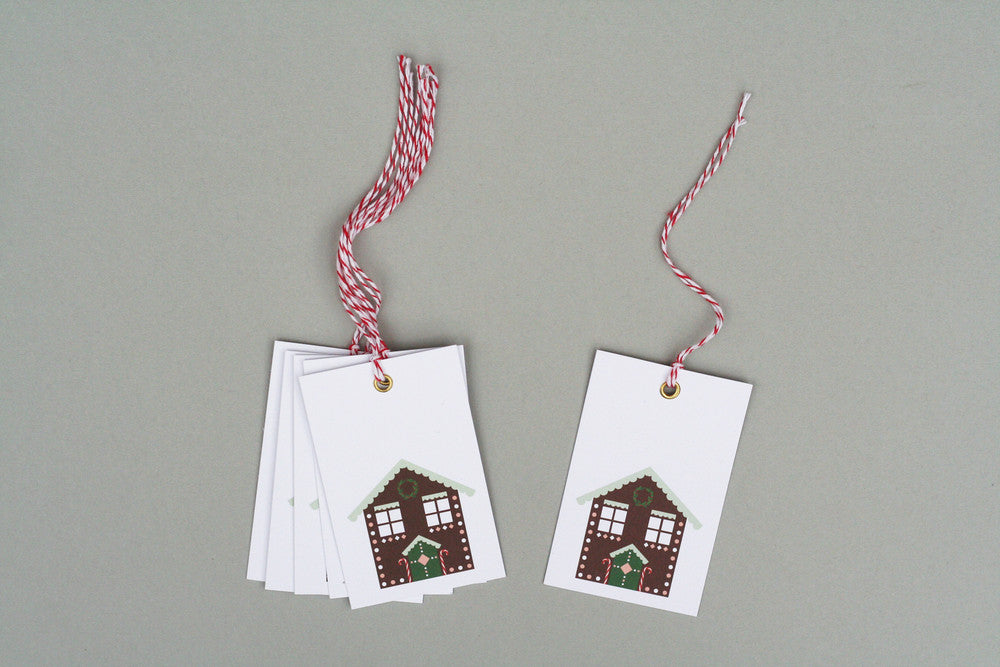 GINGERBREAD CHRISTMAS GIFT TAGS