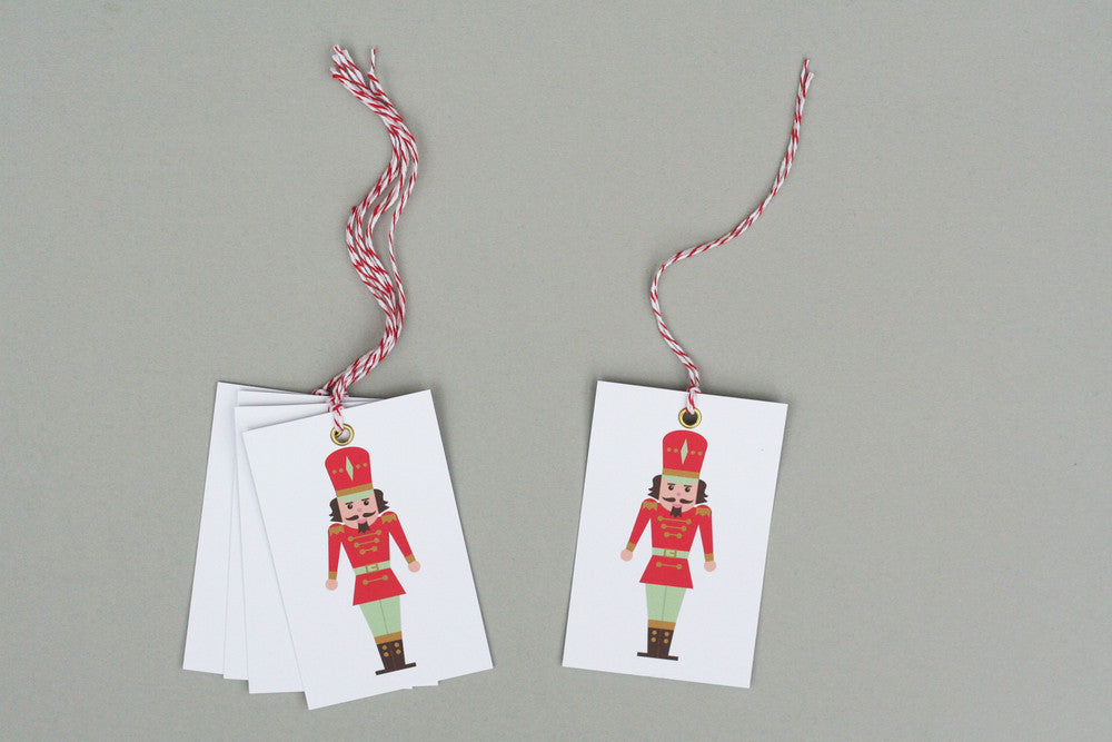 NUTCRACKER CHRISTMAS WRAPPING PAPER