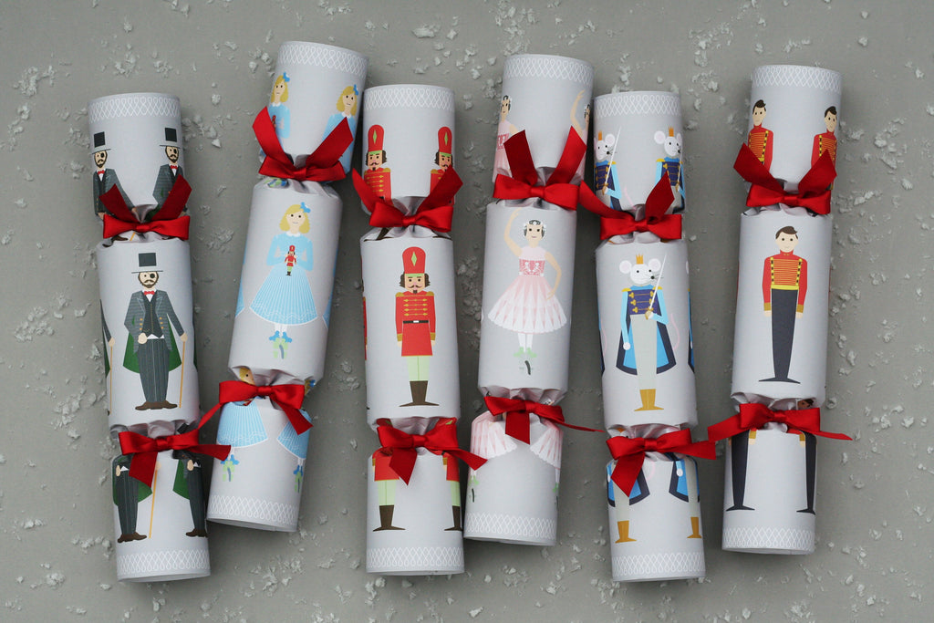 nutcracker luxury christmas crackers nancy & betty studio