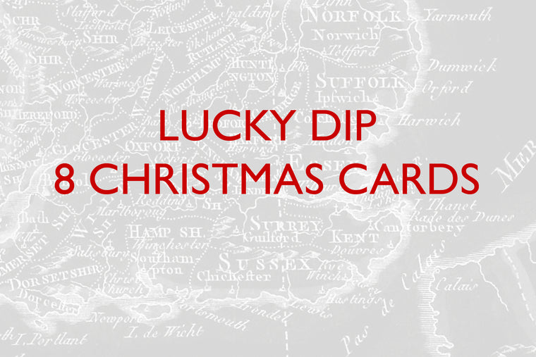 LUCKY DIP - 8 CHRISTMAS CARDS