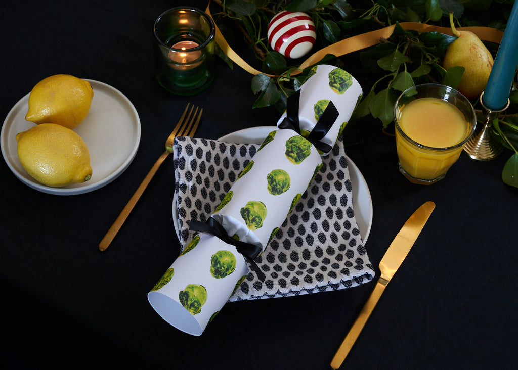 BRUSSELS SPROUT LUXURY CHRISTMAS CRACKERS