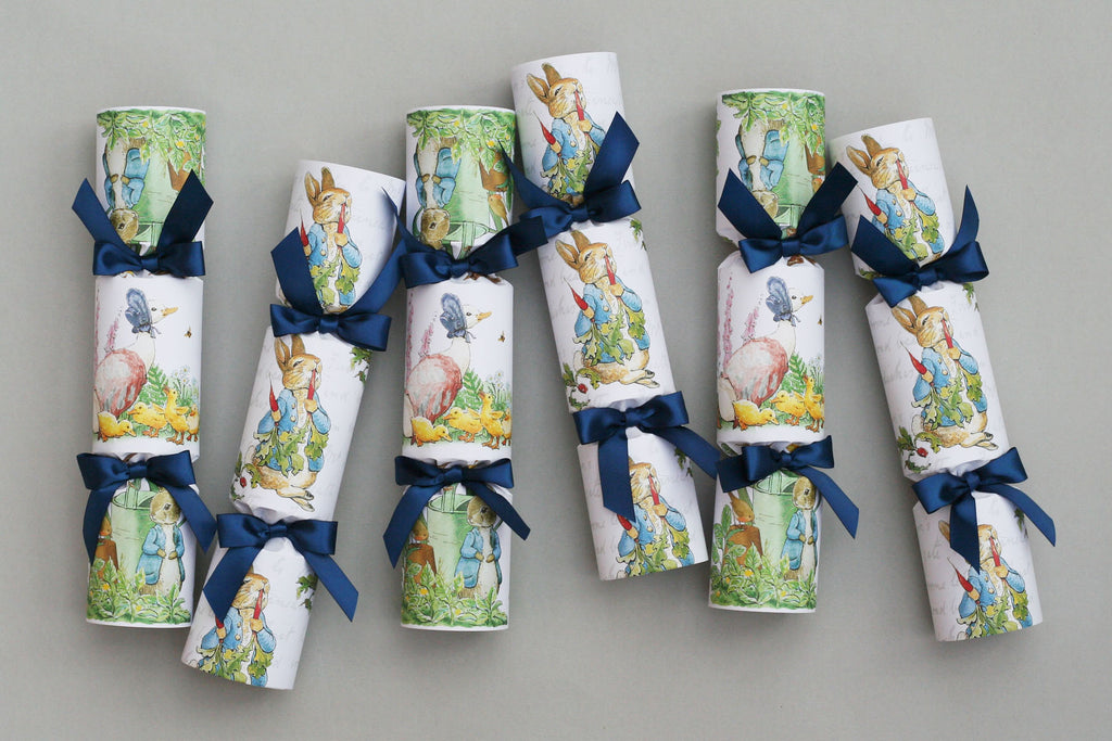 peter rabbit crackers celebration birthday easter spring christening