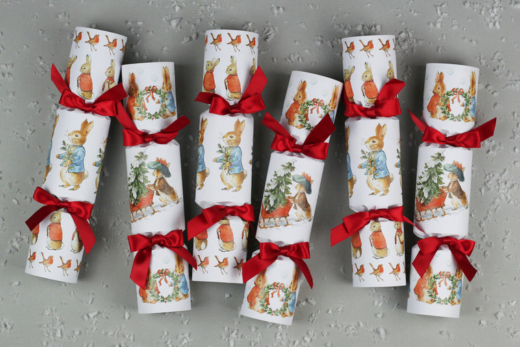 peter rabbit christmas crackers beatrix potter