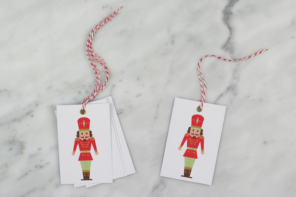 nutcracker gift tags nancy and betty uk christmas xmas