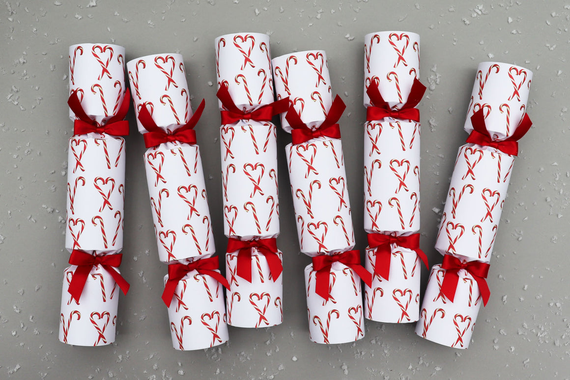 CANDY CANE LUXURY CHRISTMAS CRACKERS