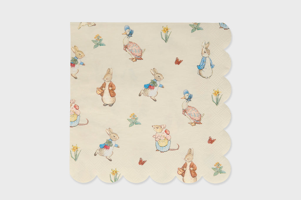 PETER RABBIT NAPKINS LARGE