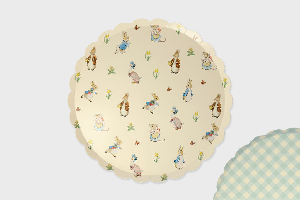 PETER RABBIT LARGE PAPER PLATE