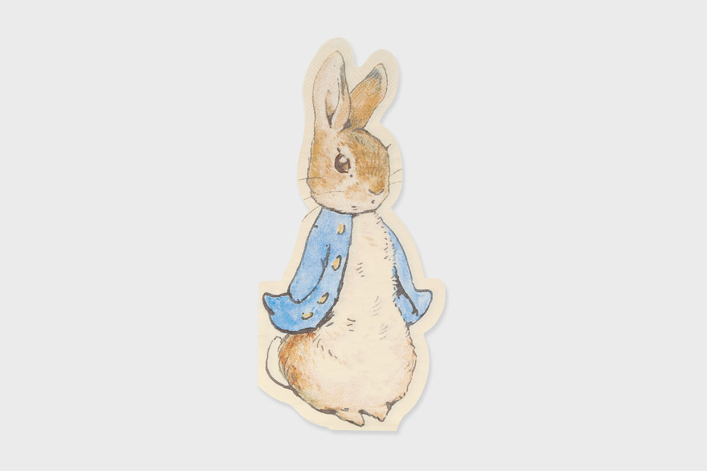 PETER RABBIT SHAPED NAPKIN