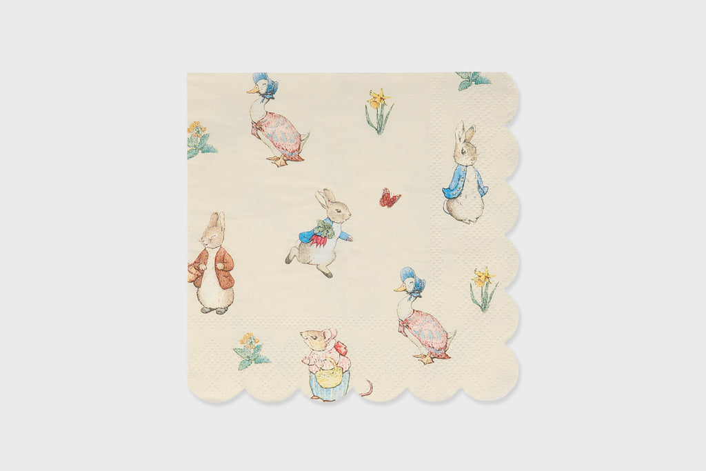 PETER RABBIT NAPKINS SMALL