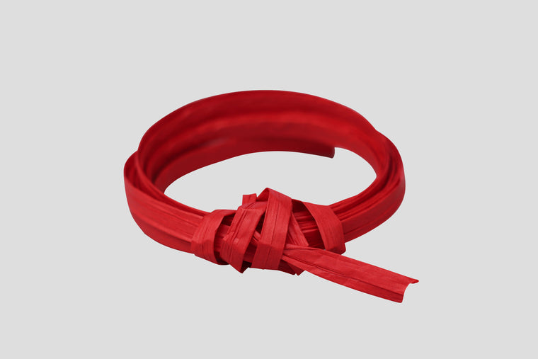 RAFFIA PAPER RIBBON - RED - 90m