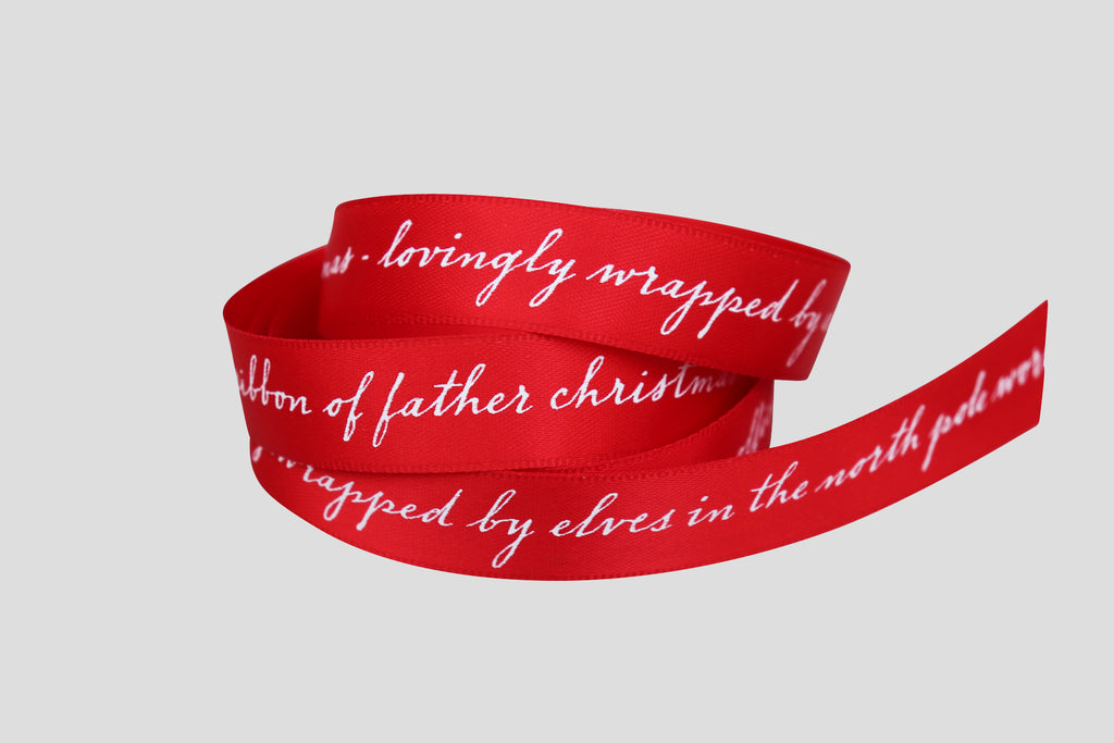 OFFICIAL RIBBON OF FATHER CHRISTMAS - 10m