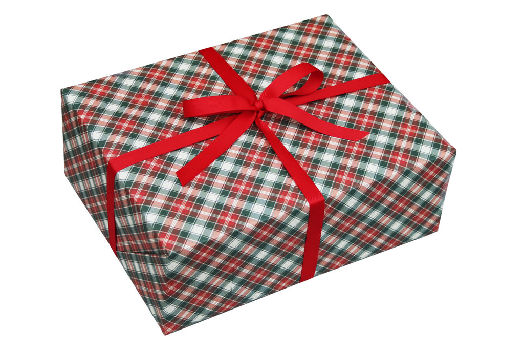 TRADITIONAL TARTAN CHRISTMAS WRAPPING PAPER