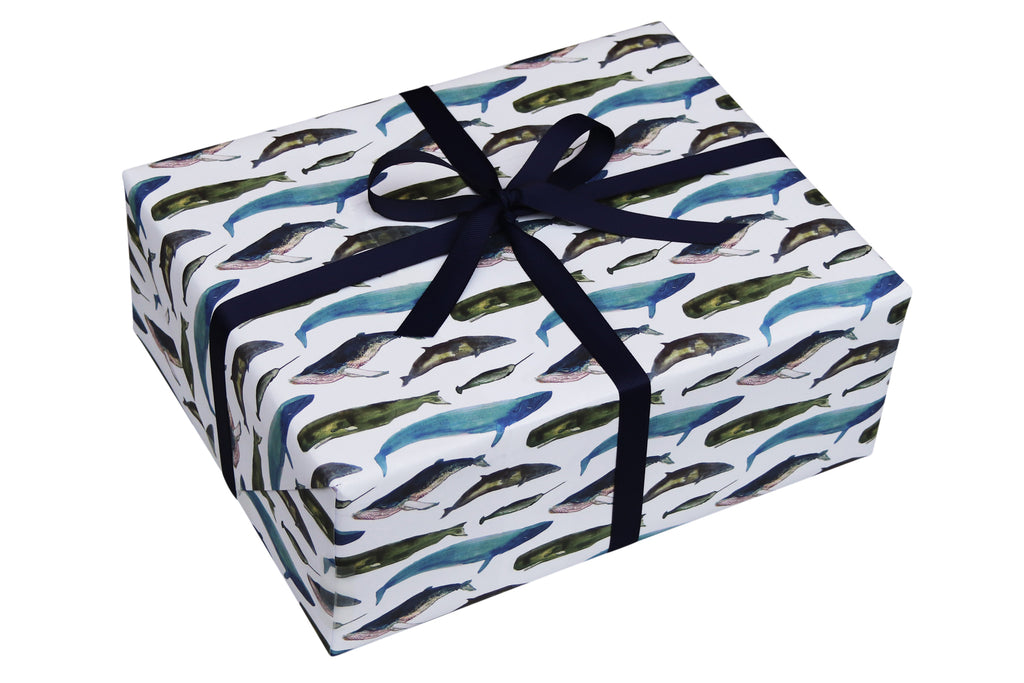WINTER WHALES WRAPPING PAPER BUNDLE