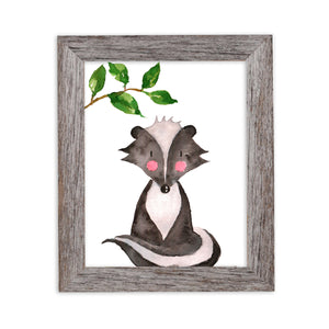 Woodland Collection - Badger - Be Different - Instant Download