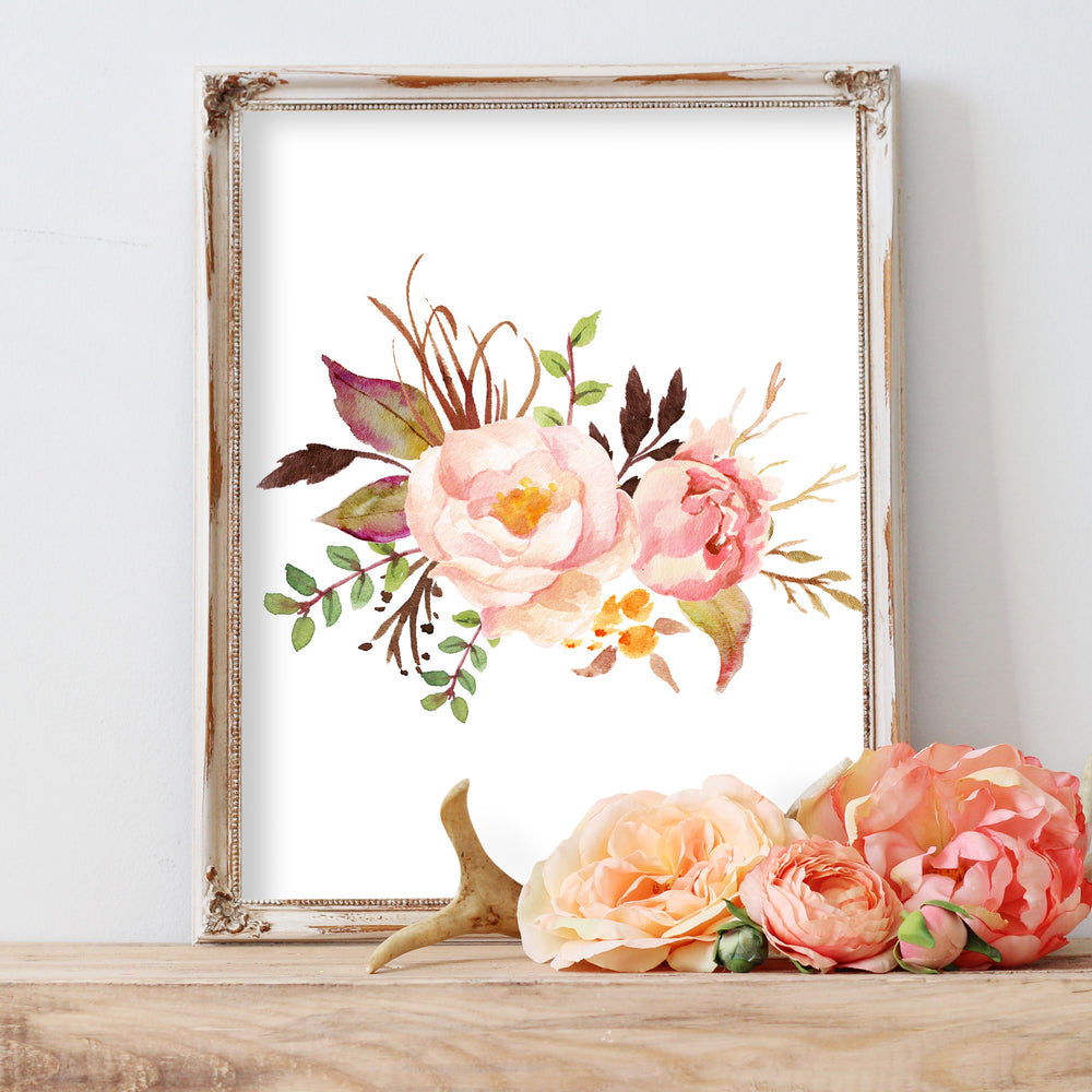 Tribal Rose - Bouquet I - Instant Download