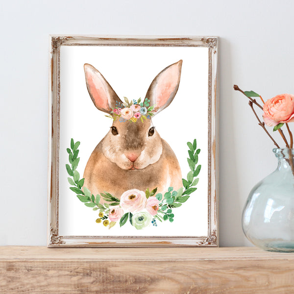 Meadowland Bunny II - Instant Download