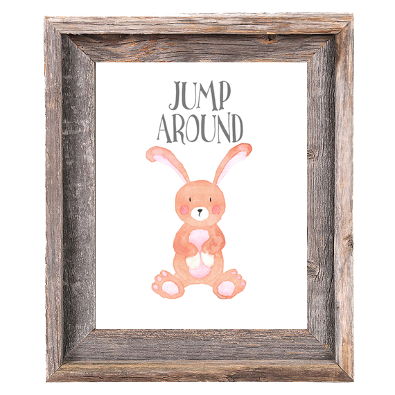Provincial Collection - Bunny Jump Around - Print