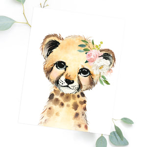 Blush Safari Set of 6 - Print- Blushed Collection