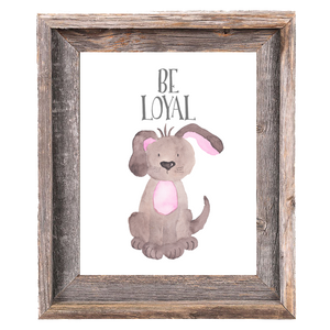 Provincial Collection - Dog Be Loyal - Instant Download