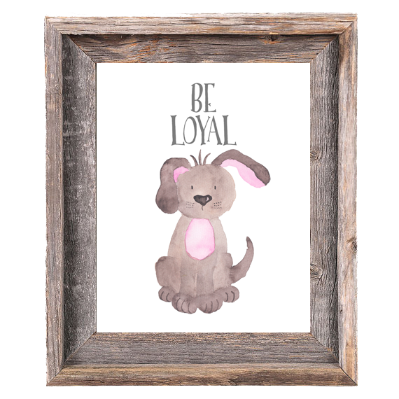 Provincial Collection - Dog Be Loyal - Print
