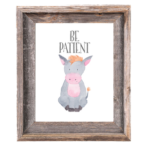 Provincial Collection - Donkey Be Patient - Instant Download