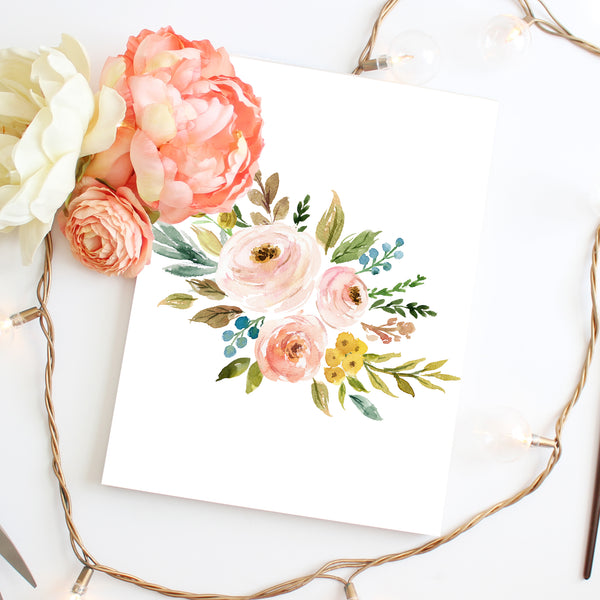 Meadowland Bouquet II - Instant Download