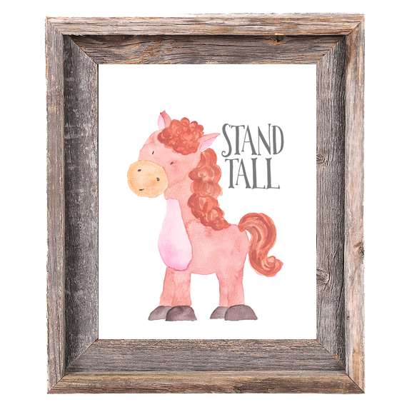 Provincial Collection - Horse Stand Tall - Instant Download