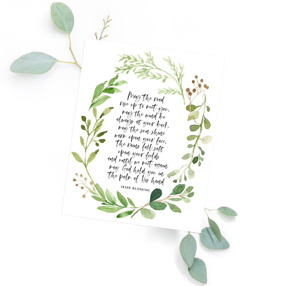 Irish Blessing - Instant Download