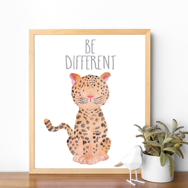 Safari Collection - Leopard Be Different - Instant Download