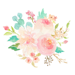 Floral Whimsy - Bouquet II - Instant Download