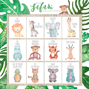 Safari Collection - Rhino Be Strong - Instant Download