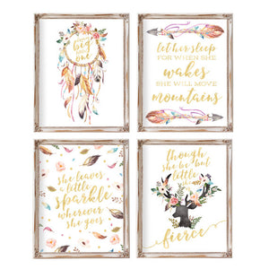 Bohemia Collection - Set of 4 - Instant Download