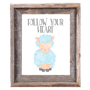 Provincial Collection - Sheep - Follow Your Heart - Instant Download