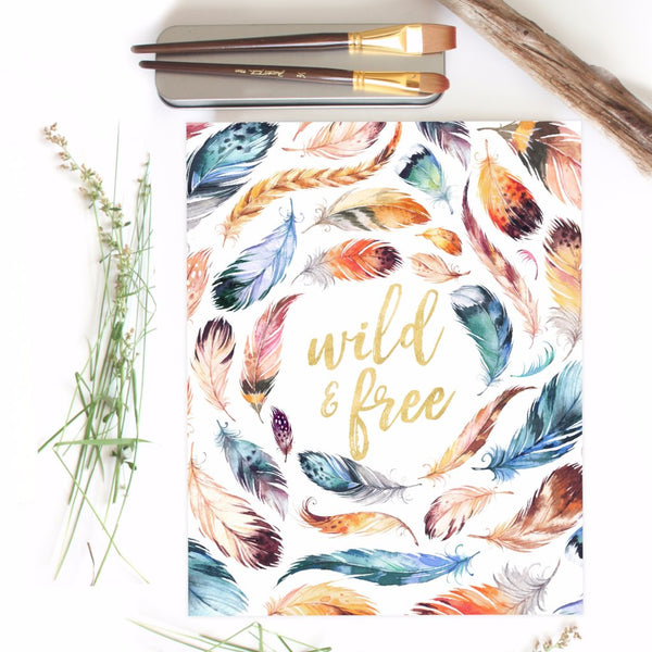 Bohemia Collection - Wild & Free - Print