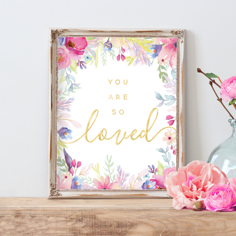 Rosewater Collection - You Are So Loved I - Instant Download