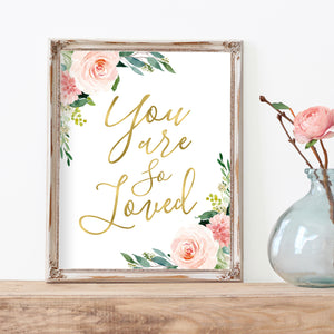 Blushed Collection - You Are So Loved - Instant Download