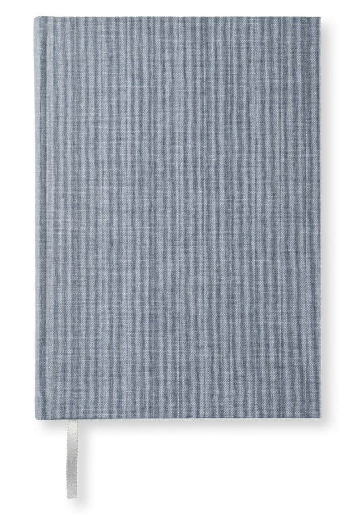 Notesbog A5 -  Blanke sider, Denim