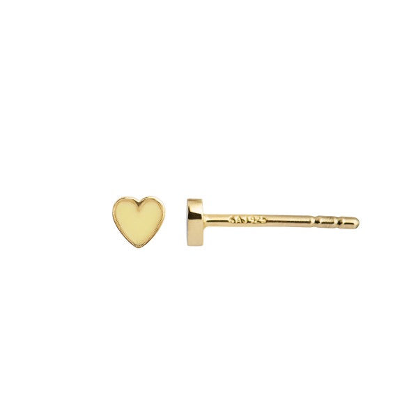 Petit love heart ligth yellow