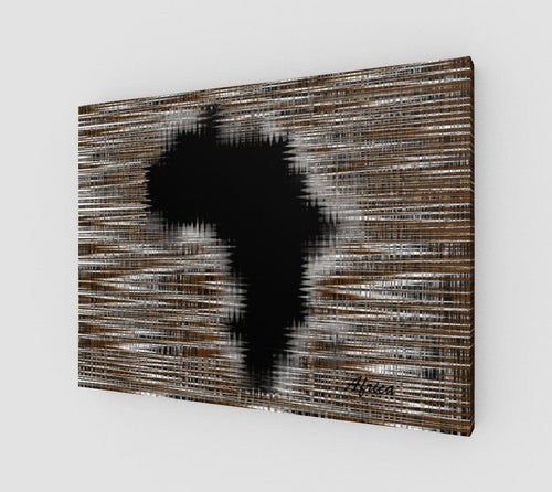 Canvas - Africa Art Canvas By Egolii