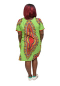 Women's Dashiki Shift Dress