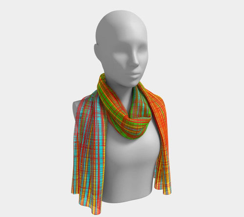WORK - Women's Blush Long Scarf