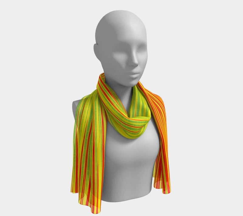 WORK - Women's Drops Long Scarf