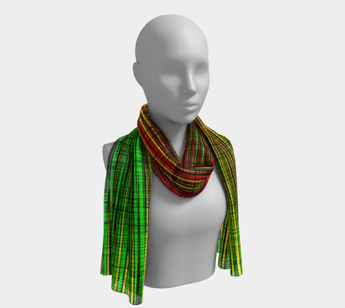 WORK - Women's Noir Long Scarf