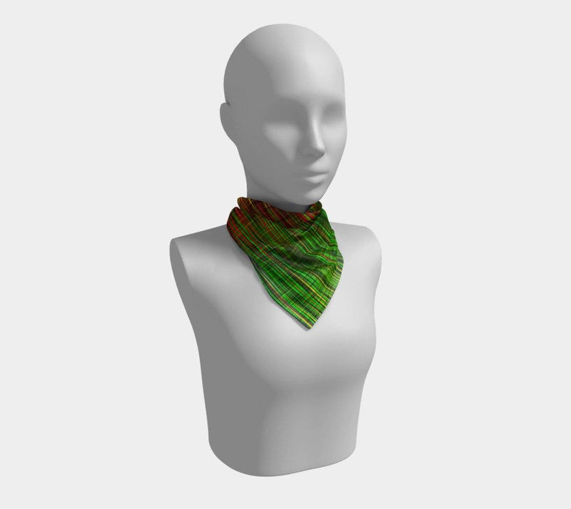 WORK - Women's Noir Square Scarf
