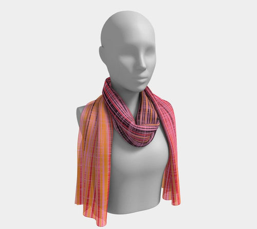 WORK - Women's Pastel Long Scarf