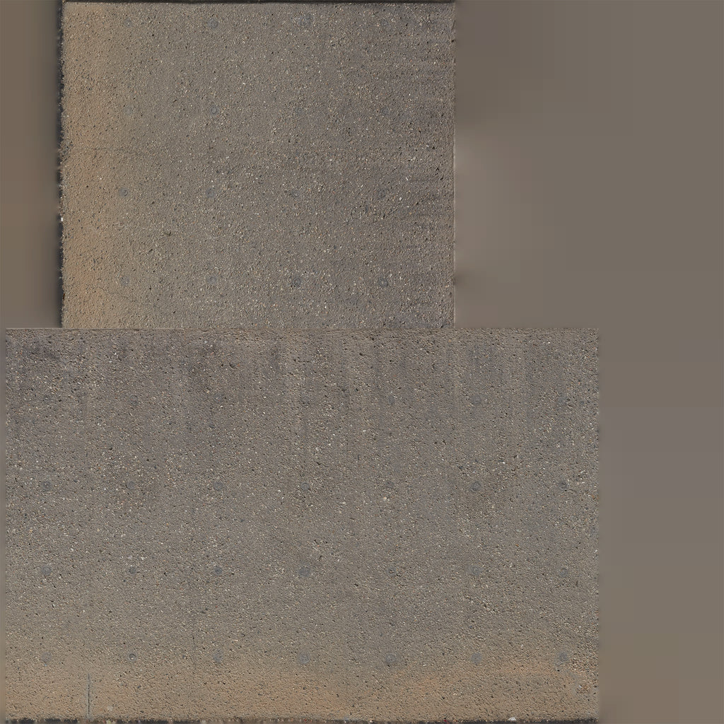 16k resolution uv texture map for a 3d model of a concrete wall