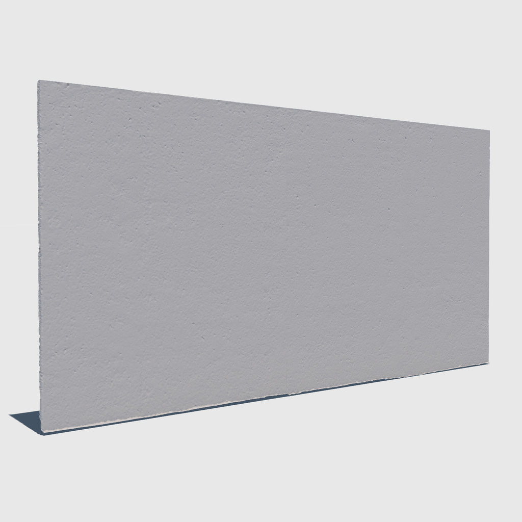 high resolution 3d render of a concrete wall with clay applied