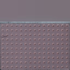 16k resolution uv texture map for a 3d model of a red concrete barrier street surface